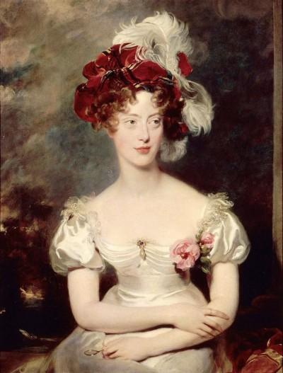 Marie Caroline de Bourbon-Sicile, duchesse de Berry (1798-1870). Sir Thomas Lawrence