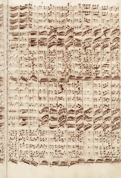 Bach Jean-Sébastien (1685-1750). Allemagne, Berlin, Staatsbibliothek zu Berlin, Musikabteilung mit Mendelssohn-Archiv. Musms Bach P25S.63.