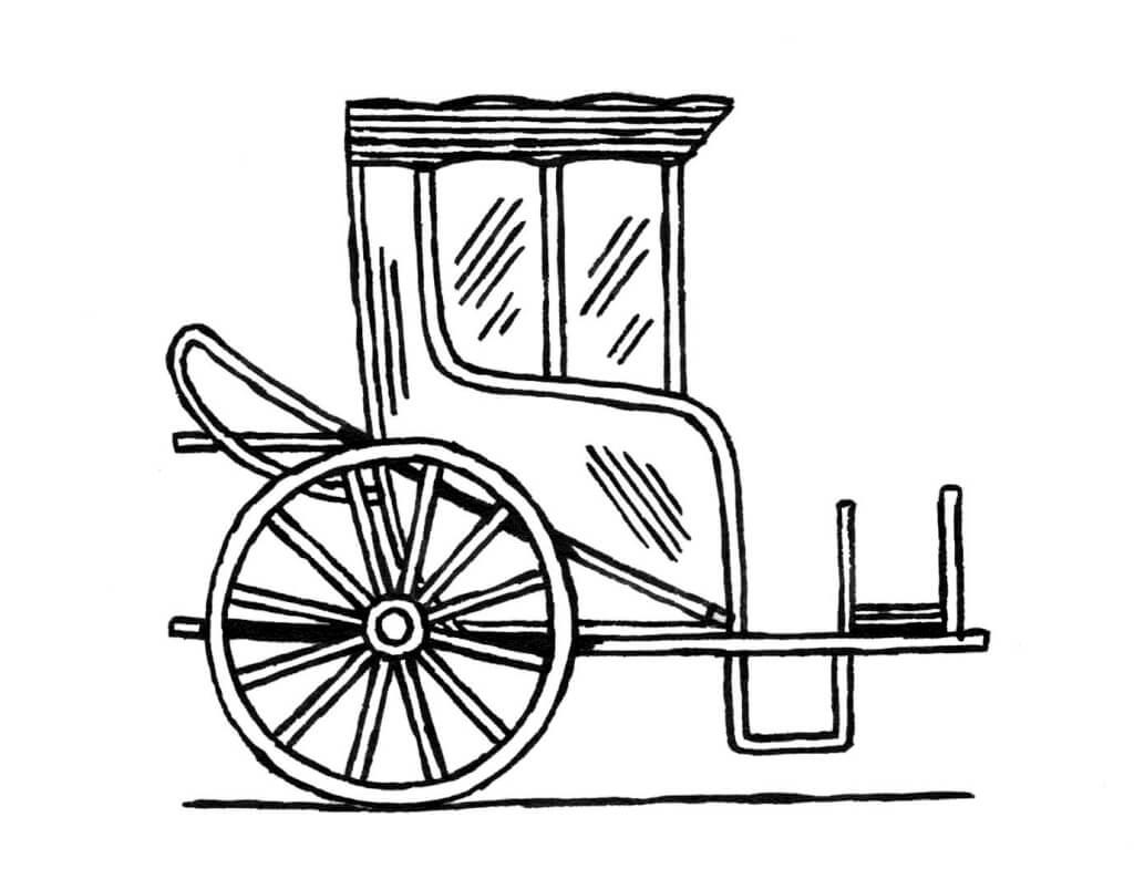 Petit lexique des v hicules hippomobiles les carnets de for Chaise de poste
