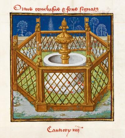 Le Miroir de l'humaine salvation, Ms139-folio5recto, Chantilly, musée Condé