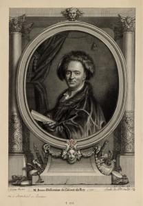 Jean Bérain père, dessinateur du Roi, auteur des décors du Cabinet des Médailles