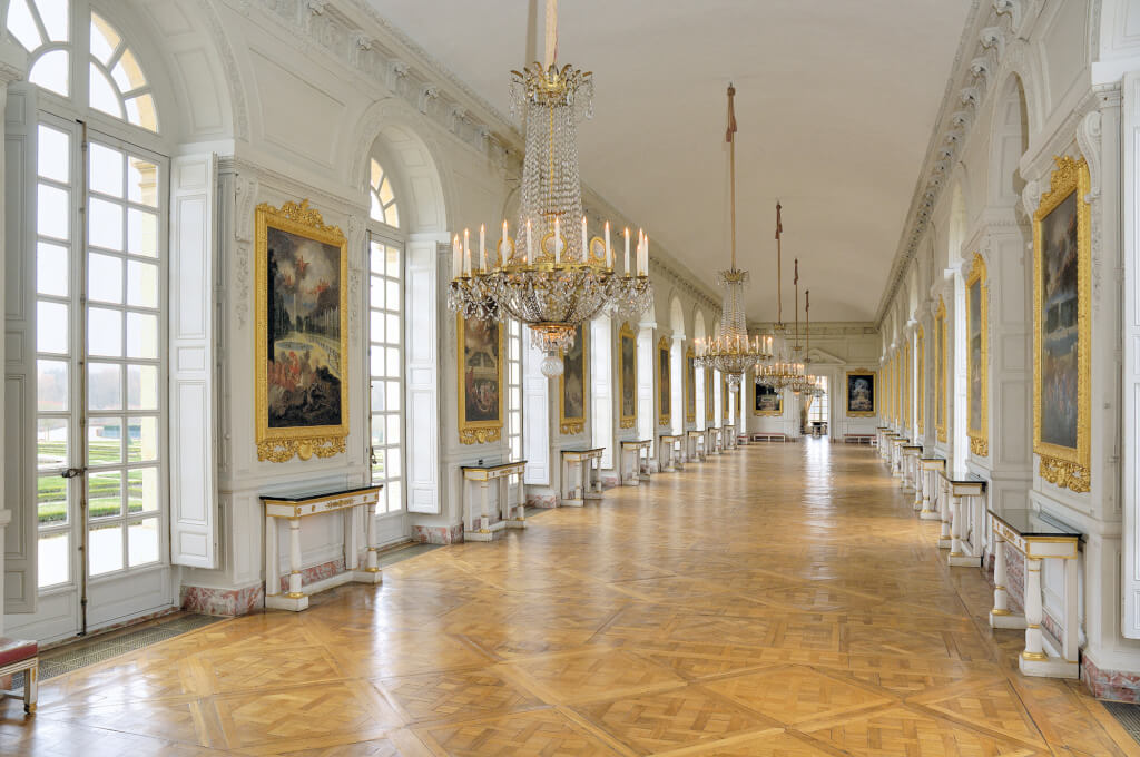 La galerie des Cotelle auGrand Trianon. @ Jean-Marc Manaï