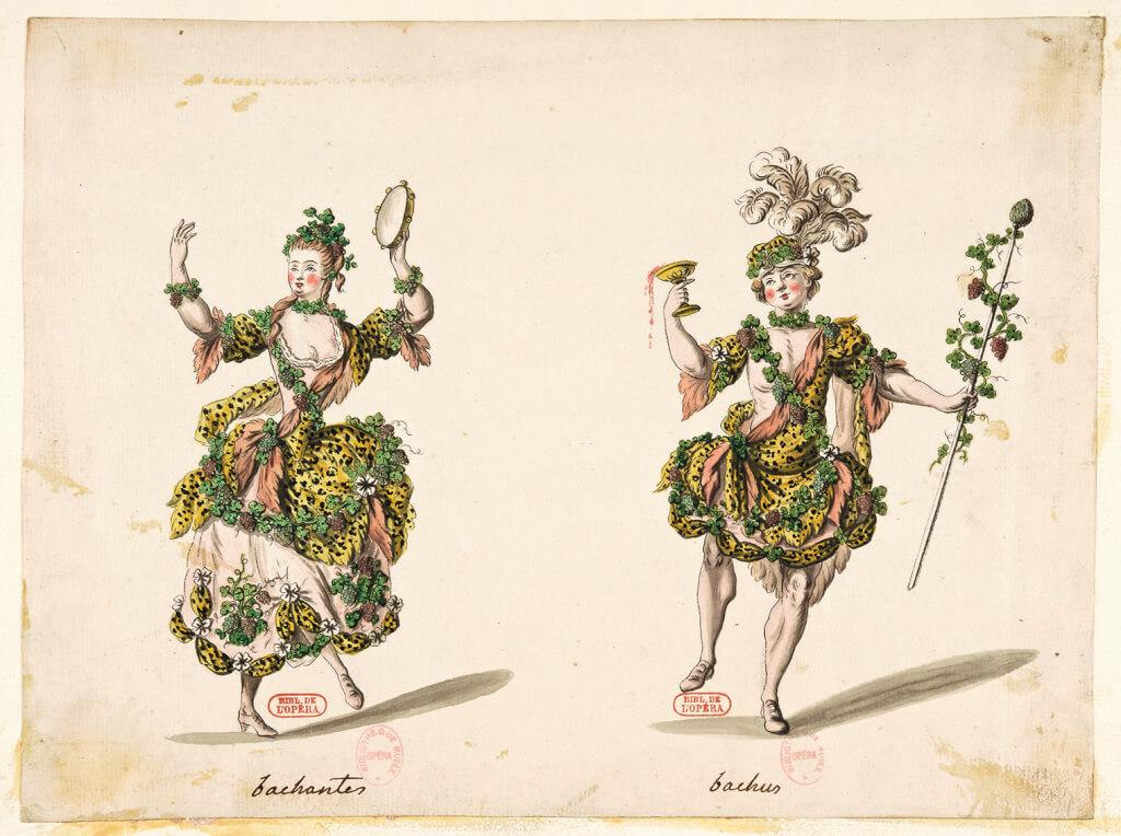 Bacchante et Bacchus