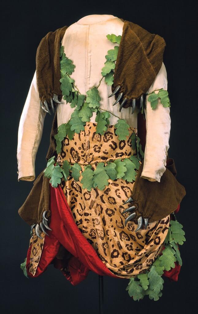 Anonyme, costume de sauvage pour la fête de Diane.